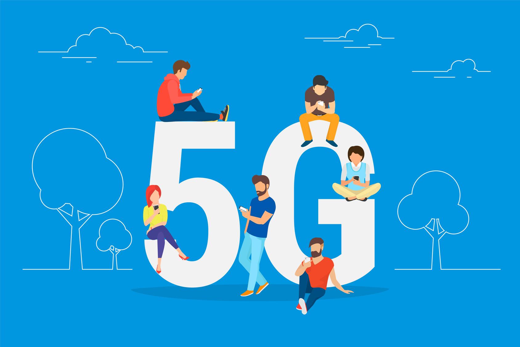 Как работает 5G интернет