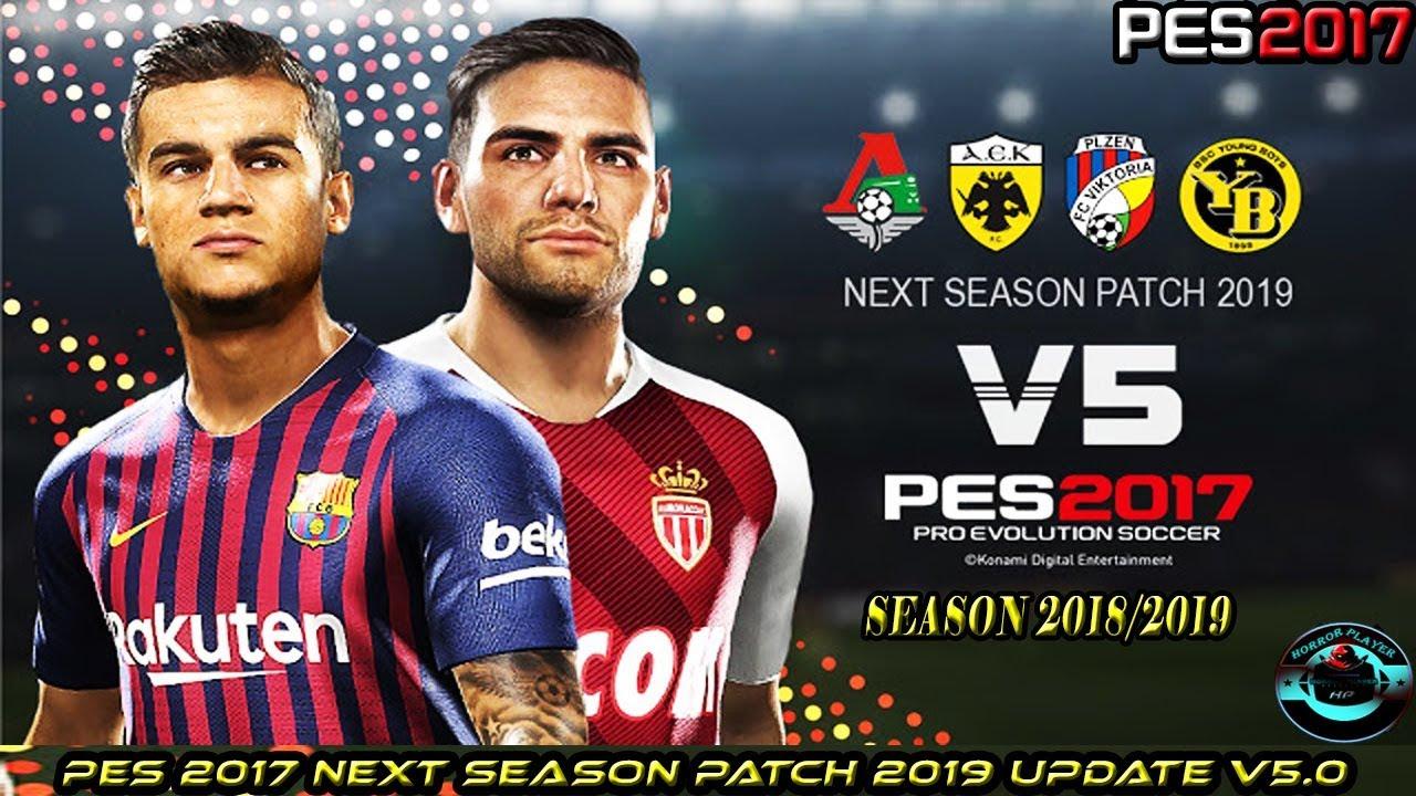 PES 2013 Next Season Patch 2019 Update V5.0 AIO