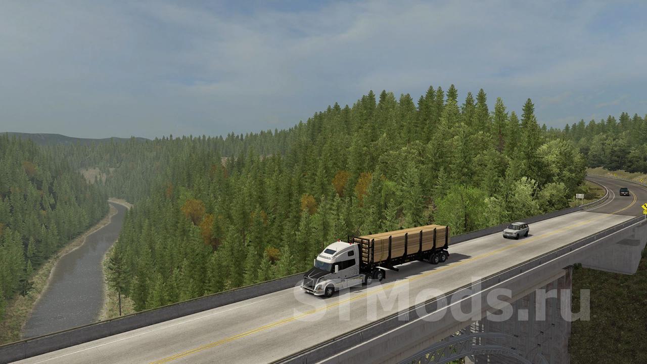 Realistic Graphics Mod версия 3.0 для American Truck Simulator (v1.35.x) Tas-ix
